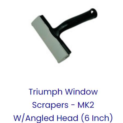 TRIUMPH ANGLED SCRAPER