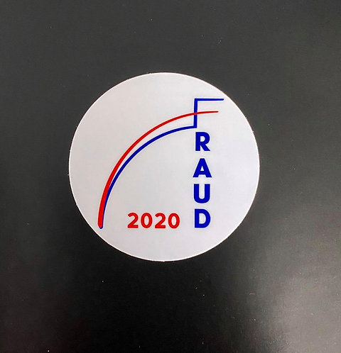 FRAUD DECAL