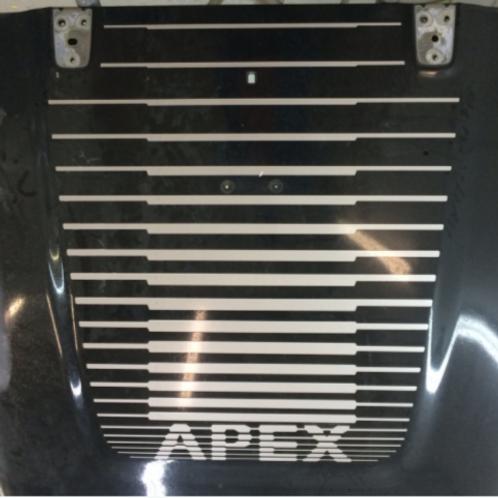 Jeep Apex package hood decal