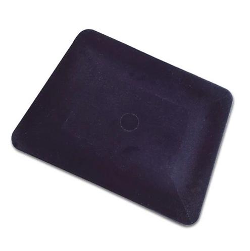 """4"""" BLACK TEFLON HARD CARD SQUEEGEE"""