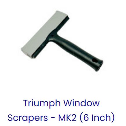 """TRIUMPH 6"""" STRAIGHT SCRAPER"""