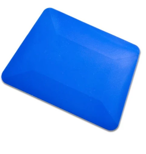 "4"" BLUE TEFLON HARD CARD"