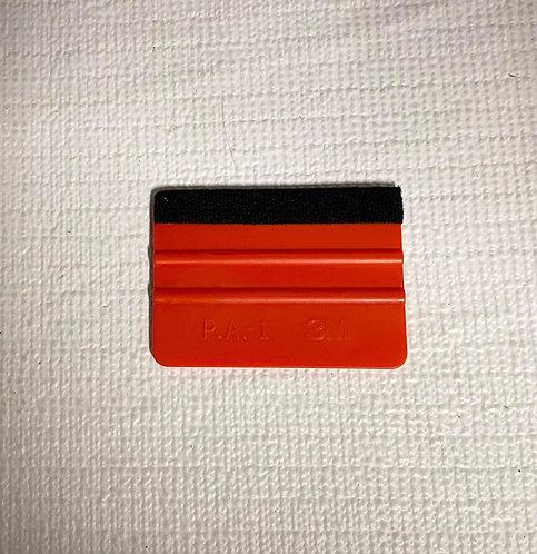 Red 3M felt edge hard card