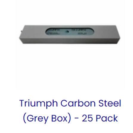 Triumph Carbon Steel 25pk