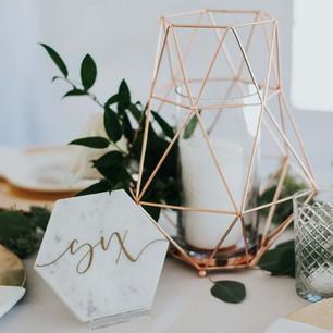 Marble & Gold Wedding Theme