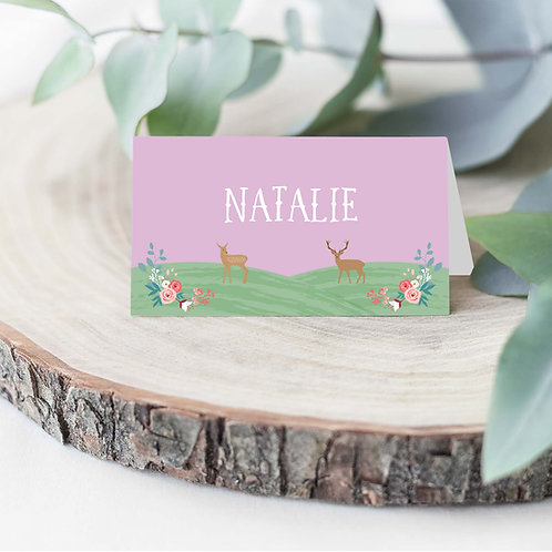 Name Cards for Wedding
