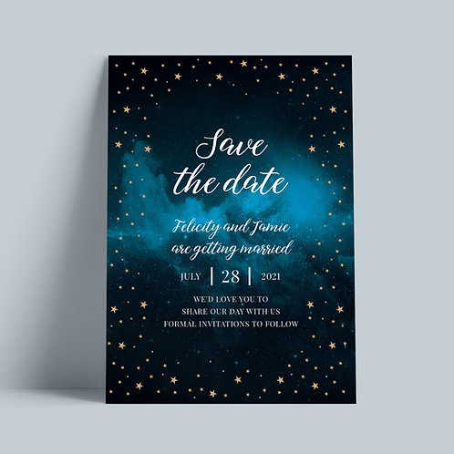 Celestial Save the Date