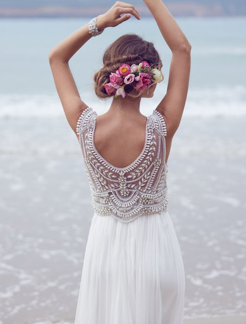 Boho wedding dress ideas