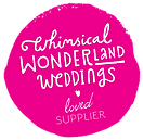 Whimsical Wonderland Weddings supplier badge