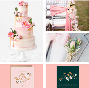 Blush Pink Wedding Colour Theme