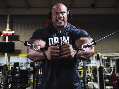 Dwayne Johnson & Dany Garcia's Seven Bucks Turning Phil Heath's Comeback Quest For 8th Mr. Olympia T