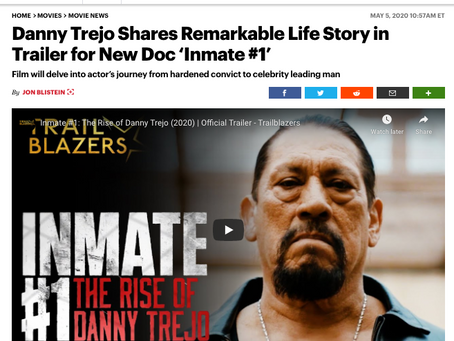 Danny Trejo Shares Remarkable Life Story in Trailer for New Doc Inmate #1