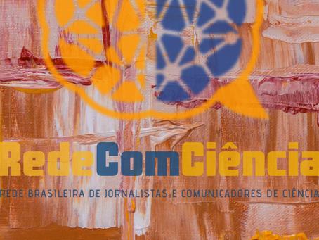 Aviso importante sobre as atividades da RedeComCiência no primeiro semestre de 2020:
