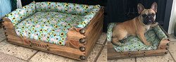 Wine Crate Pet Bed-