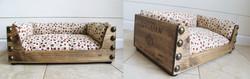 Wine Crate Pet Bed-Love