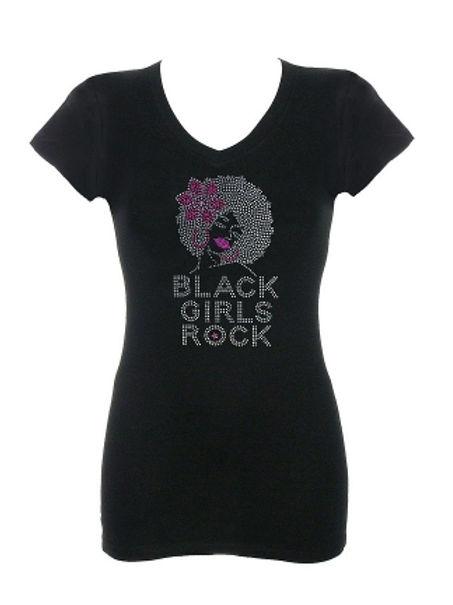 Black Girls Rock Rhinestone T-Shirt