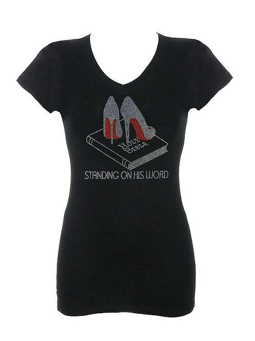 Standing on His Word Rhinestone T-Shirt