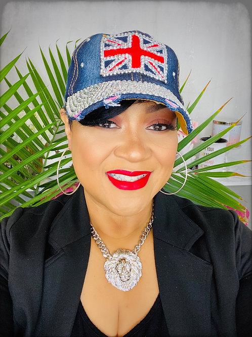 BRITISH FLAG DENIM ADJUSTABLE CAP