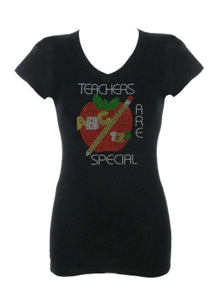 Teachers Are Special Rhinestone T-Shirt