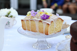 homemade lemon drizzle cake