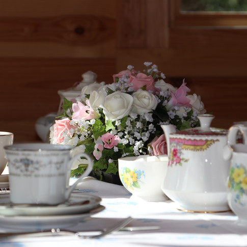 Afternoon Tea Party for a Special Anniversary Party