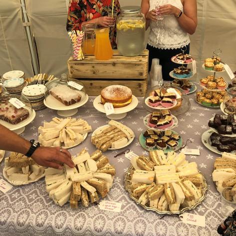 Afternoon Tea Buffet Service