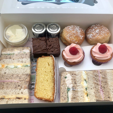 Boxed Afternoon Tea Service