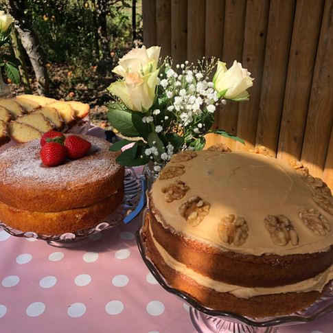 Homemade cakes from our Classic Afternoon Tea Menu
