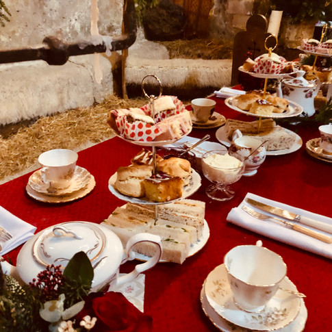 Christmas Wedding Afternoon Tea