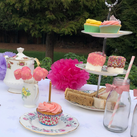 Childrens Afternoon Tea Buffet Table