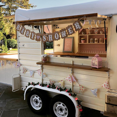 Mobile Bar Hire for Baby Shower