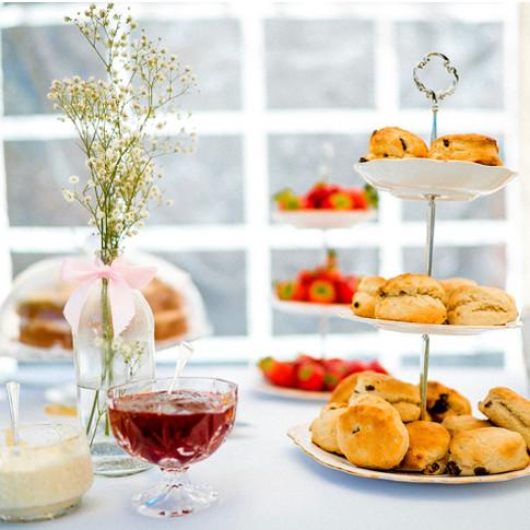 Wedding afternoon tea buffet