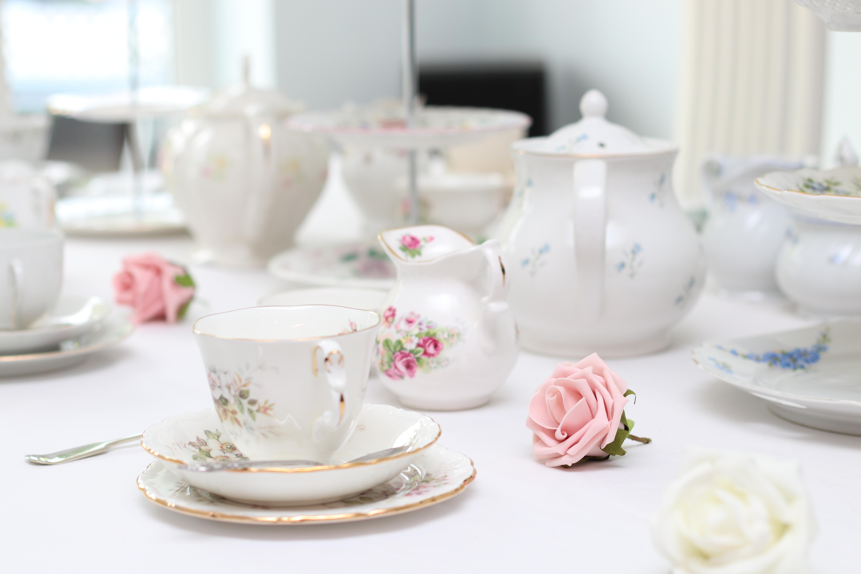 vintage afternoon tea china