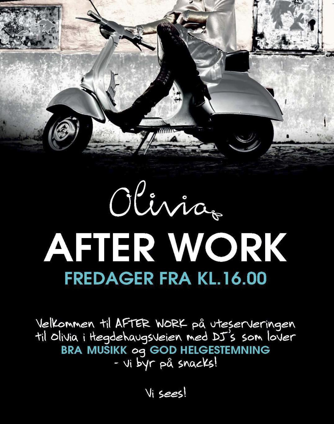 Afterwork flyer