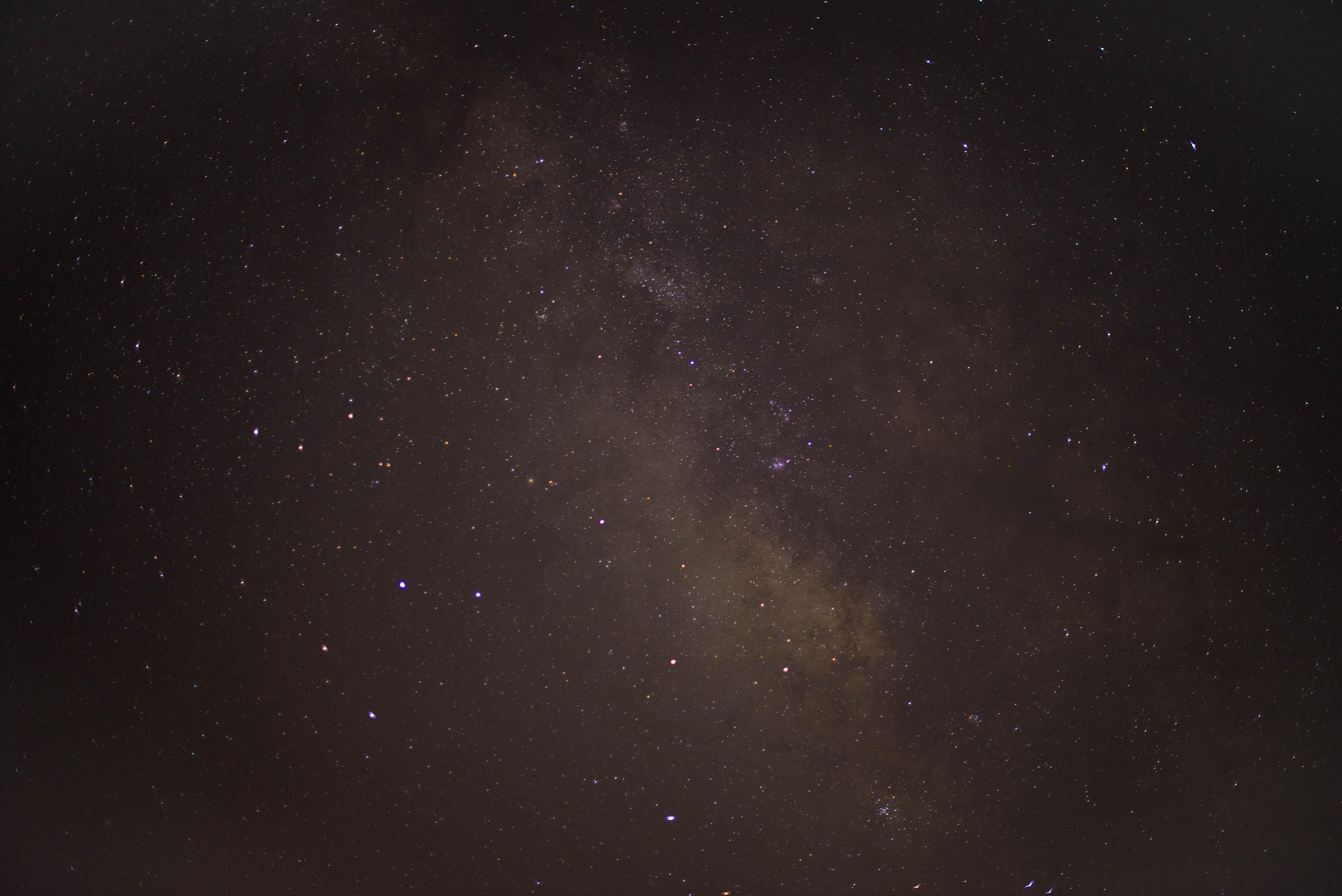 ciel étoilé la nuit