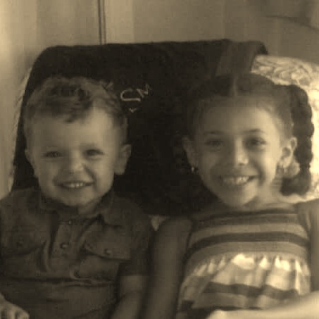 My kiddos when they were small