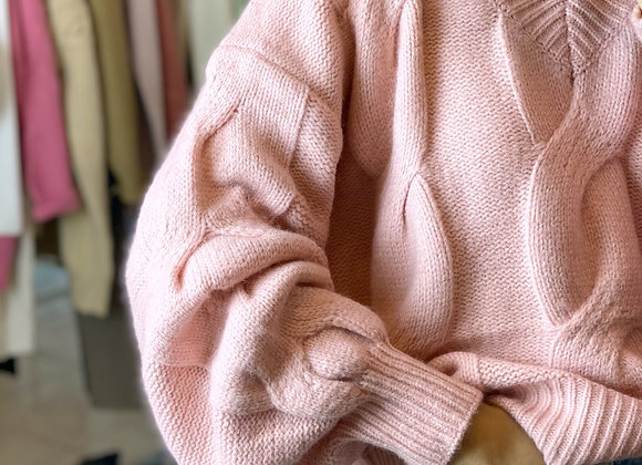 SWEATER CHIARA ROSA
