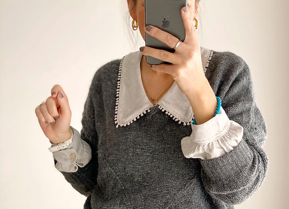 SWEATER JUNCO GRIS OSCURO