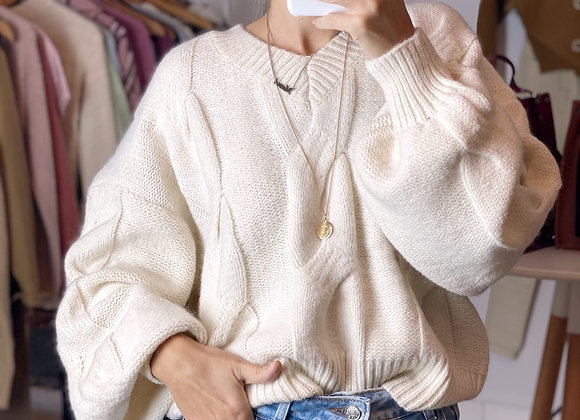 SWEATER CHIARA NATURAL