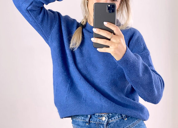 SWEATER MEGAN AZUL