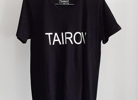 T-SHIRT TAIROV NEGRA
