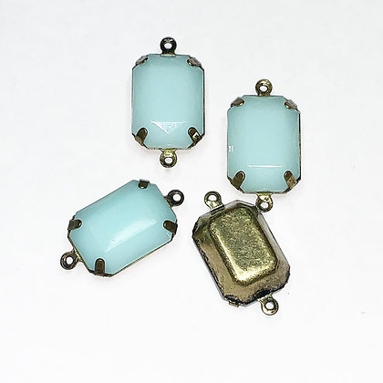 5 x Turquoise resin spacer