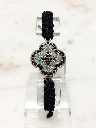 02 Macrame Rhinestone Bracelet