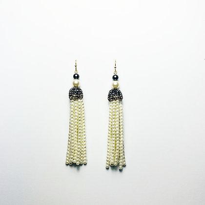 Pearl Tassel Earrings E15