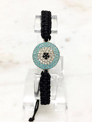 01 Macrame Rhinestone Bracelet