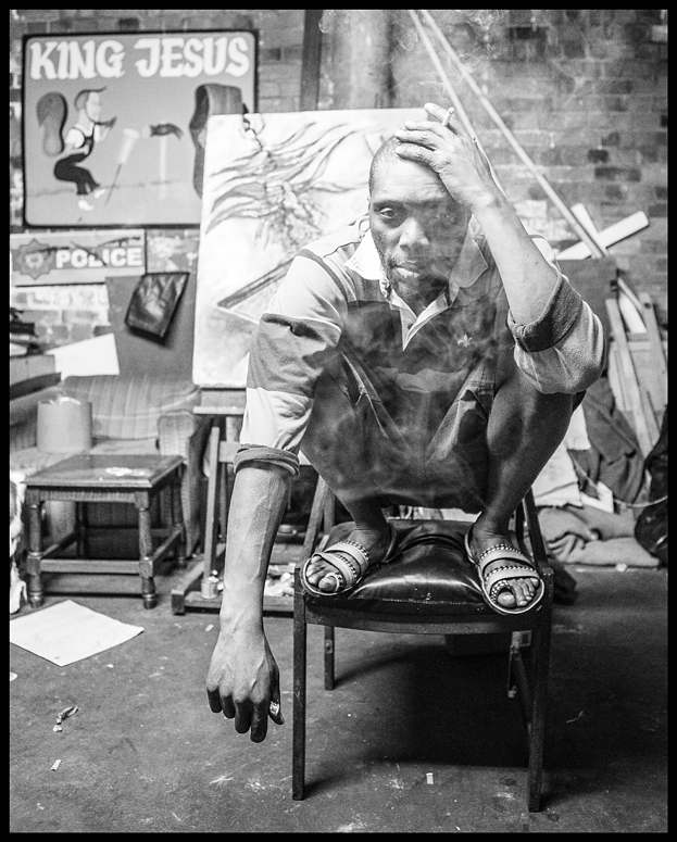 The Painter Msa in His Studio,