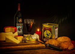 Still Life with Cheese and Anchovies