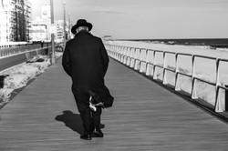 Cold Shabbat Stroll