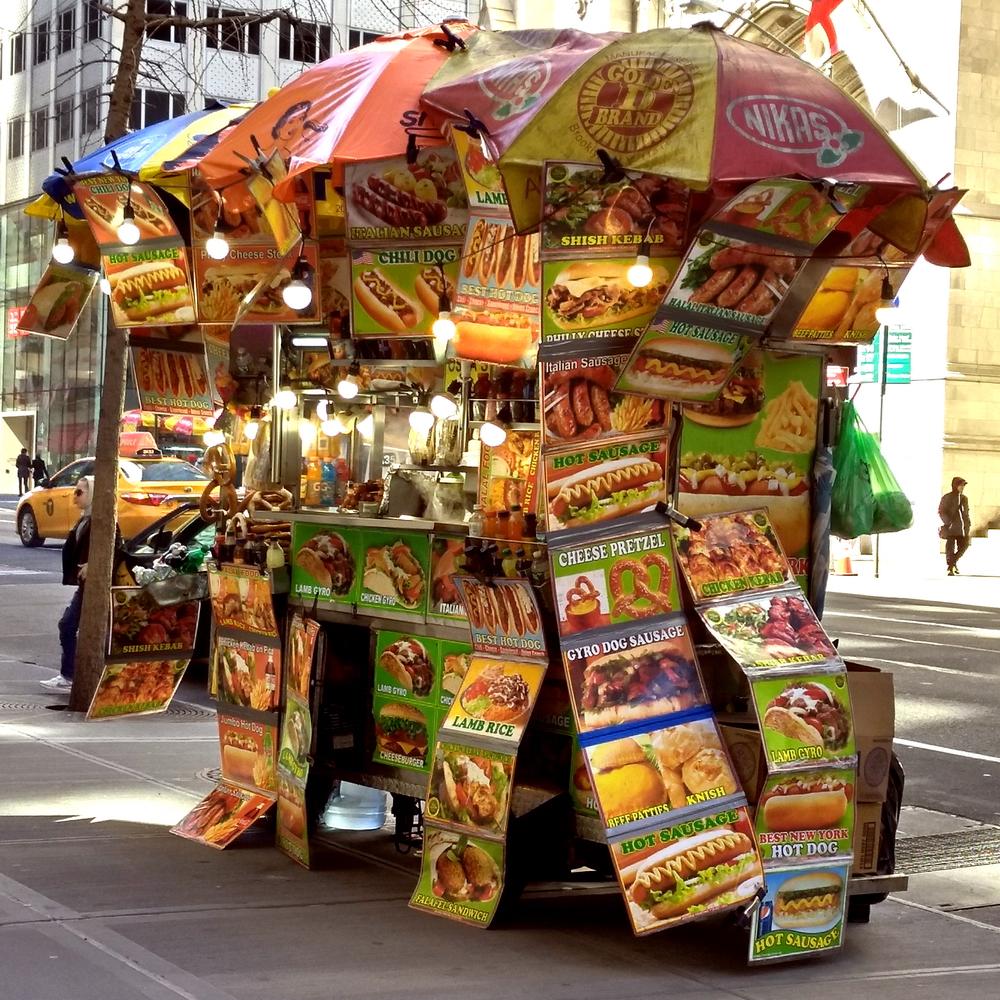 Food Cart, Fifth Avenue