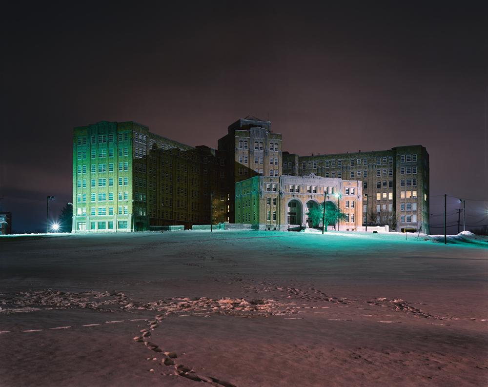 Bloomfield Hospital at Night